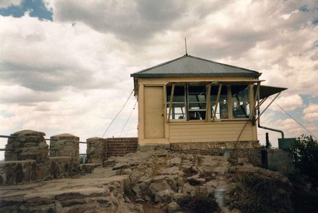 Barfoot Lookout in 1989 (Armando Arvizu photo)