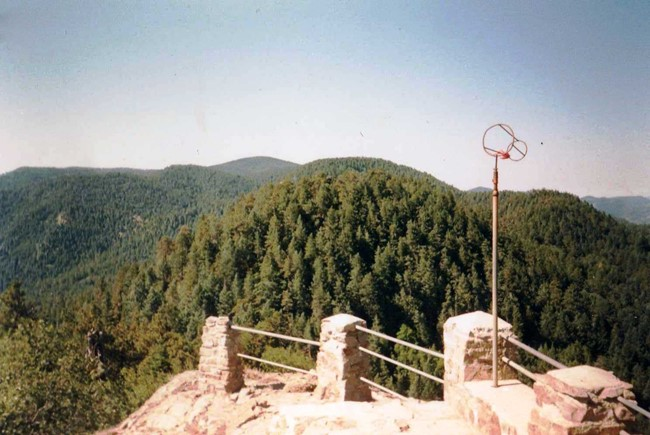 Barfoot Lookout Site in 1989 (Armando Arvizu photo)