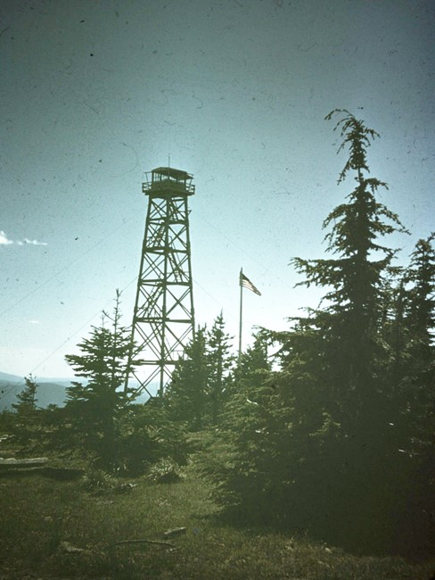 Circa 1961 photo from Dennis Lynch, former District Forester