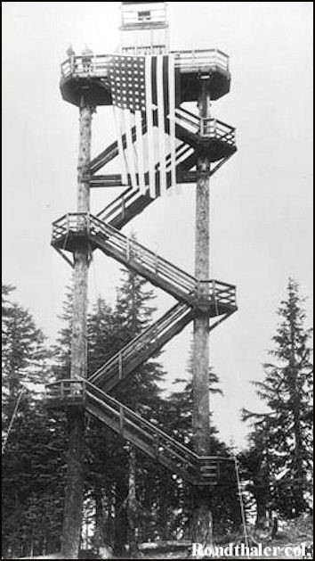 1915 (Photos courtesy Fire Lookout Museum and Dave Bula collection)