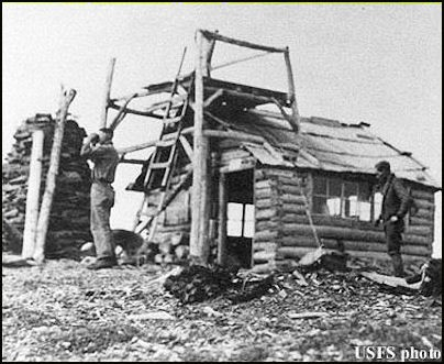 1923 (photos courtesy Fire Lookout Museum)