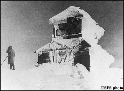 1921 (photos courtesy Fire Lookout Museum)