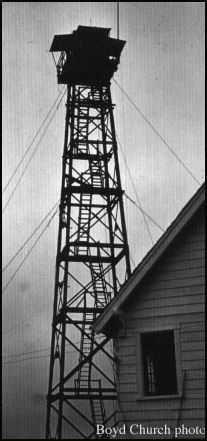 Tower as originally built 1956