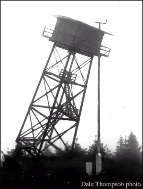 Tower removed in 1970