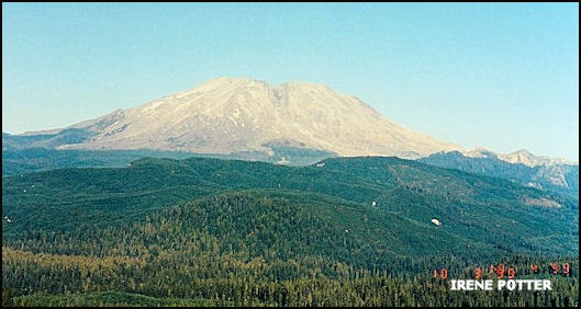 View of Mount St. Helens 10/3/1999