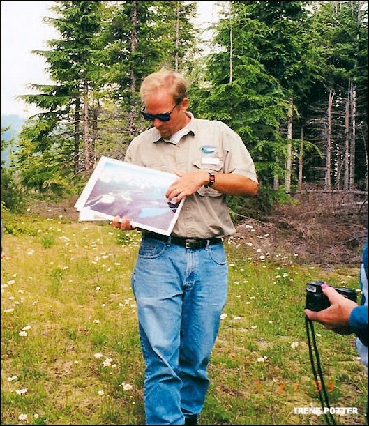 Ralph Naess, naturalist with Seattle Public Utilities 7/21/1999
