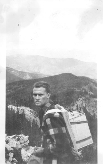 Water pack in 1941 (photo from Mark Lutz)